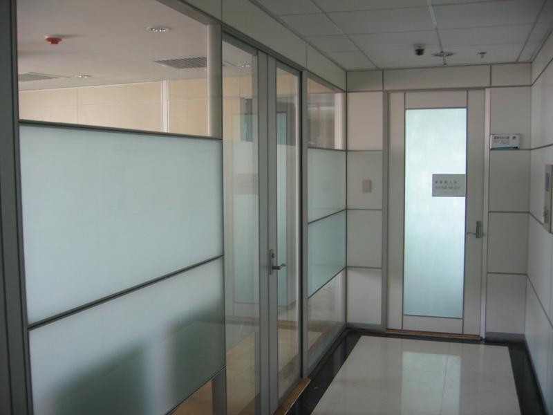 重庆中空百叶隔断重庆玻璃隔断